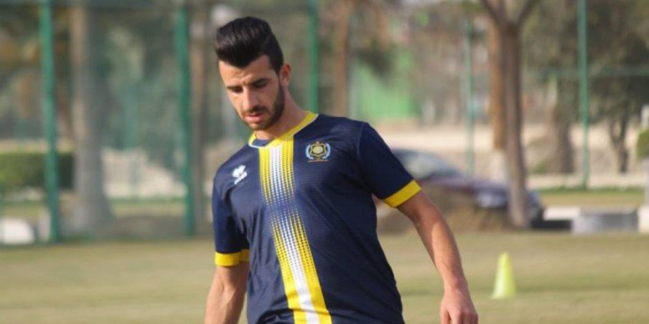 محمود متولي يكمل مباراته الـ 100 مع الإسماعيلي