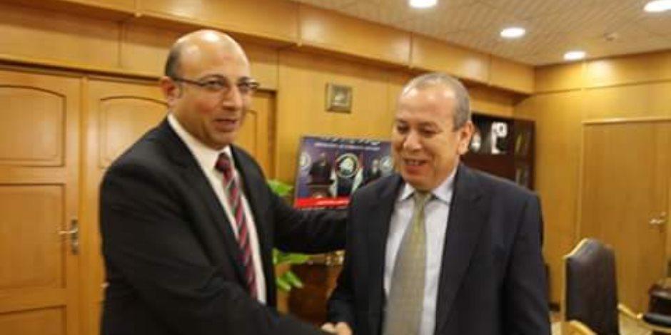 محافظ دمياط يلتقي مدير فرع هيئة الرقابة الإدارية الجديد
