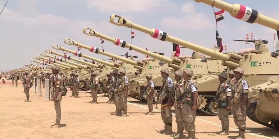 """الجيش المصرى فى 2020: """"قادر"""" على """"الردع"""" و """"الحسم"""""""