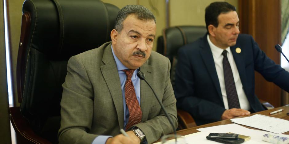 محمد العمارى: أتمسك بالترشح لرئاسة لجنة الصحة.. وإنجازاتى تتحدث عن نفسها