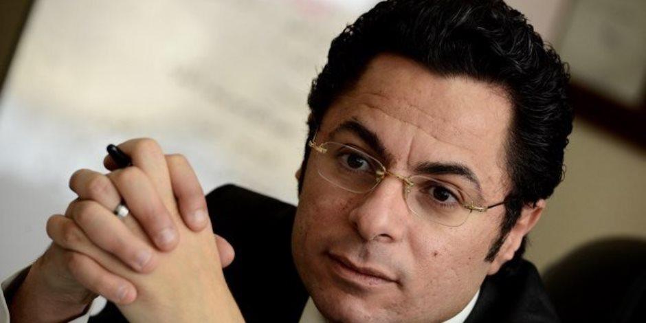 «هرتلة».. هكذا فضح خالد أبو بكر حملة قنوات الإخوان على موقع اليوم السابع
