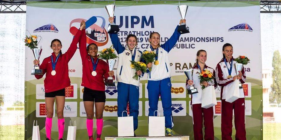 الخماسي الحديث.. فريال أشرف أول رياضية تحقق الميدالية الذهبية في أولمبياد طوكيو