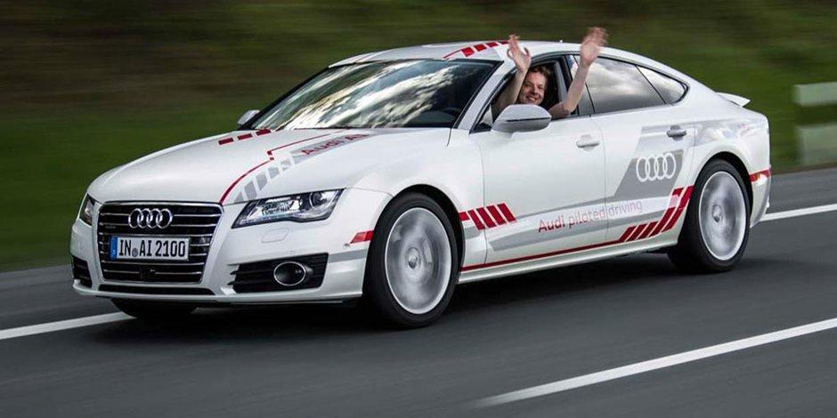 في ألمانيا.. جولة مجانية بسيارة «أودي A7» ذاتية القيادة