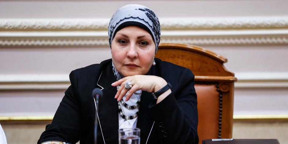النائبة هالة أبو السعد: ترحب بنص مشروع قانون الأزهر على الاصطحاب
