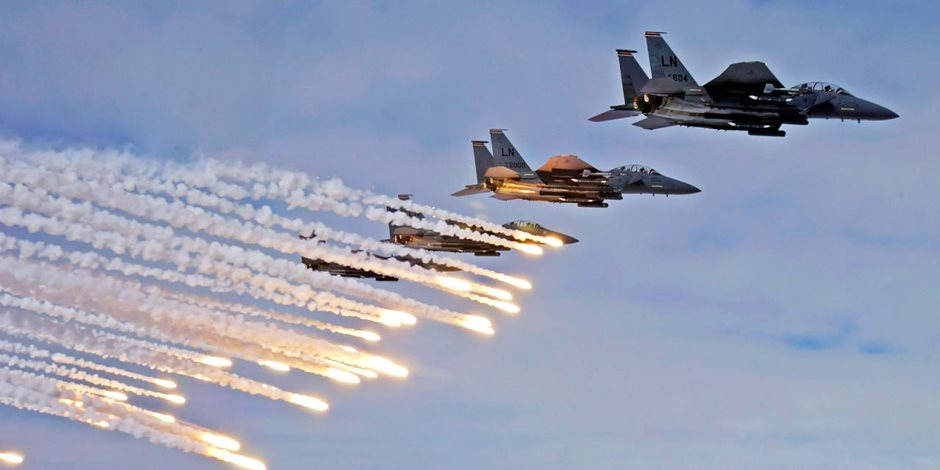 الطيران الحربي في ثاني أيام الحديدة.. سلاح التحالف العربي للقضاء على الحوثيين