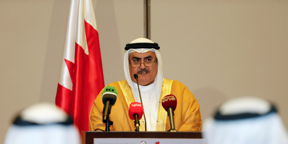 وزير الخارجية البحريني: عارض المخطط القطري والإيراني لتفتيت المنطقة VS جاويش أوغلو: أكد دعم بلاده لدول راعية للإرهاب (صاعدوهابط)