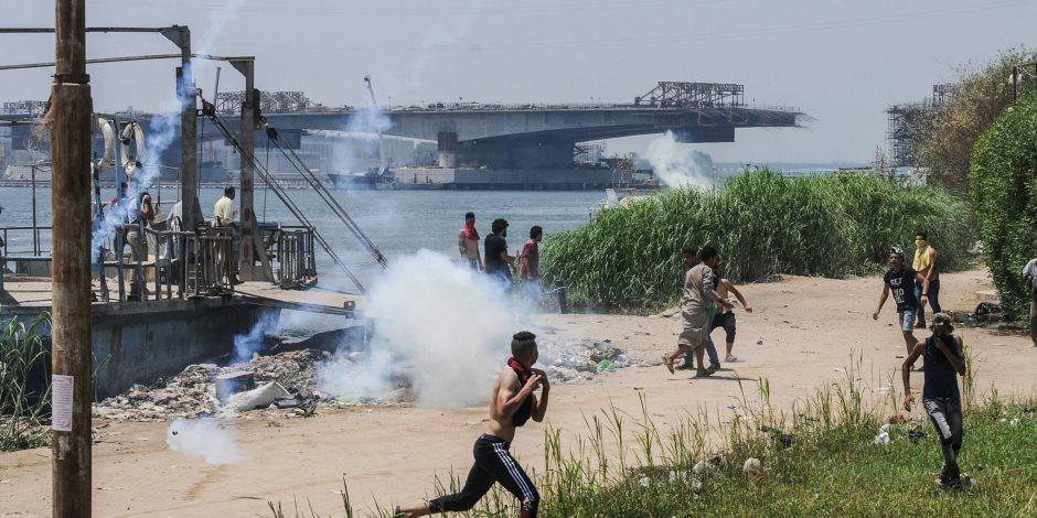 مصدر قضائي: نيابة شمال الجيزة لم تتلق إخطارات بمصابين من أهالي جزيرة الوراق
