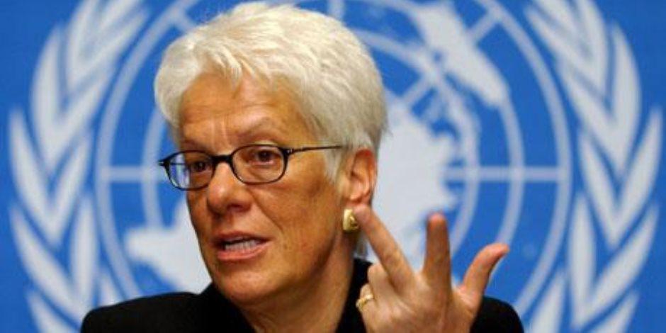 كارلا ديل بونتي تعتزم الاستقالة من لجنة التحقيق الدولية حول سوريا