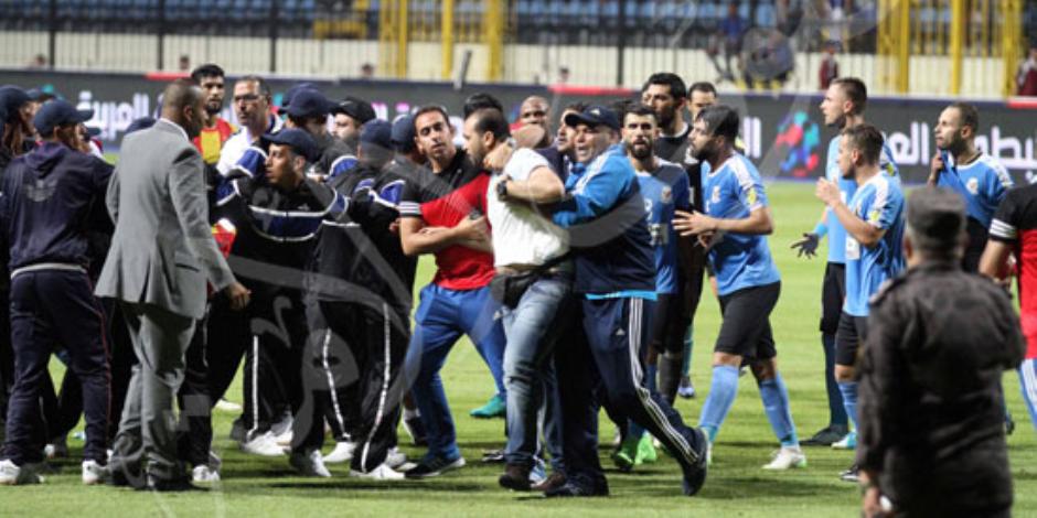 أول بلاغ رسمي في أحداث شغب مباراة الفيصلي الأردني والترجي التونسي