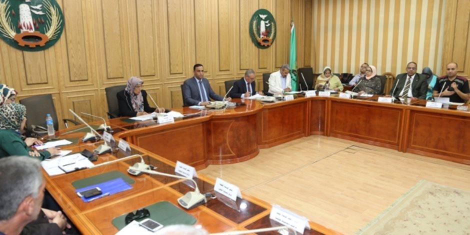 المنوفية تعقد اجتماع المجلس الإقليمي للسكان لمواجهة المشكلة السكانية (صور)