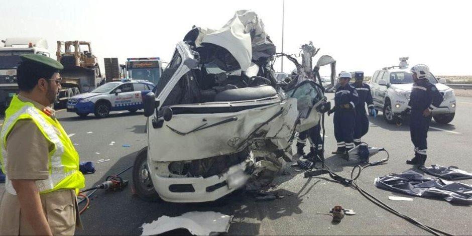 حادث تصادم.. طالب يتسبب في وفاة 4 أشخاص بأسيوط