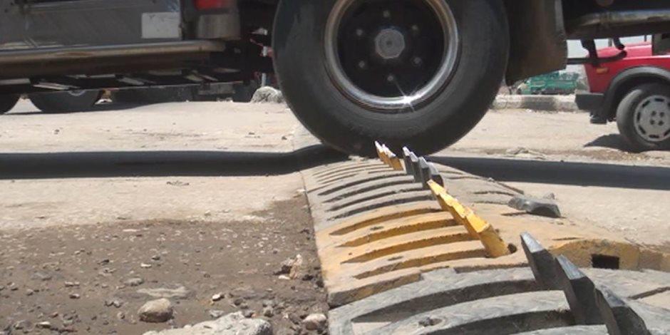 «العواكز» سلاح وزارة النقل للتخلص من المطبات العشوائية في 2019