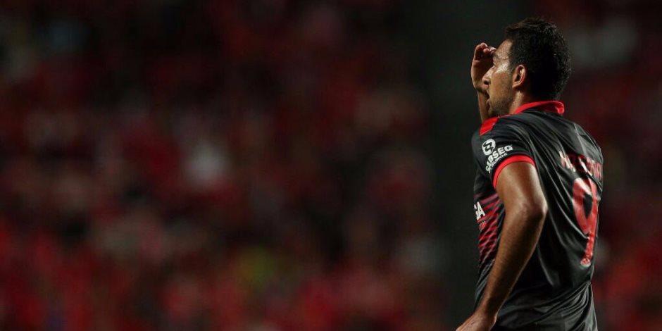 كوكا يسجل هدف التعادل لبراجا في مرمي تونديلا بالشوط الأول