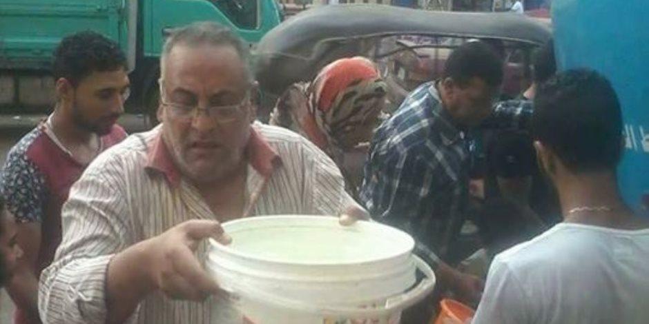 العطش يضرب المحلة وأزمة نفق المشاه تتجدد.. والأهالي: توزيع المياه علينا بالسيارات غير آدمي