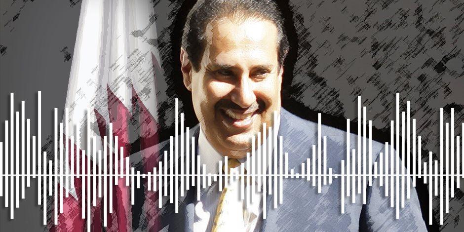 """حمد بن جاسم في الفخ.. مكالمة تكشف تفاصيل مثيرة بفضيحة """"باركليز"""" والرشاوى القطرية"""