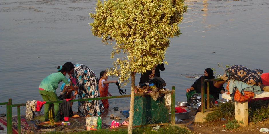 هنا احتفل المصريون بعيدهم.. حديقة حيوان الجيزة والقناطر الخيرية تشهد إقبالا كثيفا