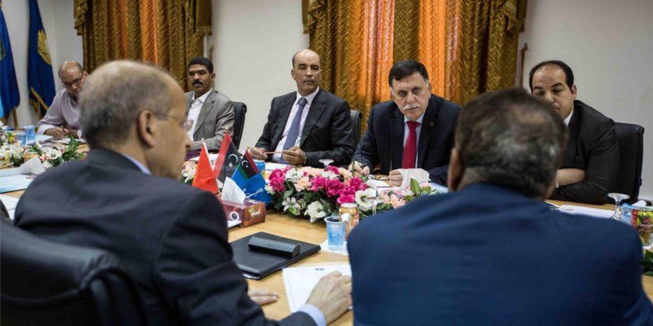 المنظمات الدولية تفضح حكومة الوفاق الإخوانية في ليبيا