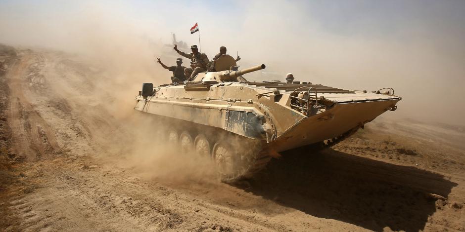"""جهاز مكافحة الإرهاب العراقى: يحرر مدينة القائم بالكامل من إرهابيي """"داعش"""""""