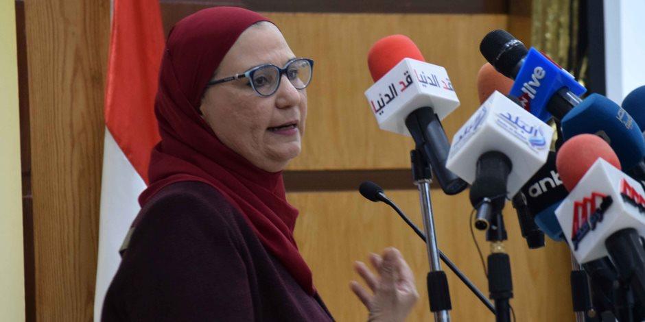وزيرة التضامن والسفير الإيطالى بمصر يفتتحان عدة مشروعات خدمية بالوادى الجديد .. اليوم