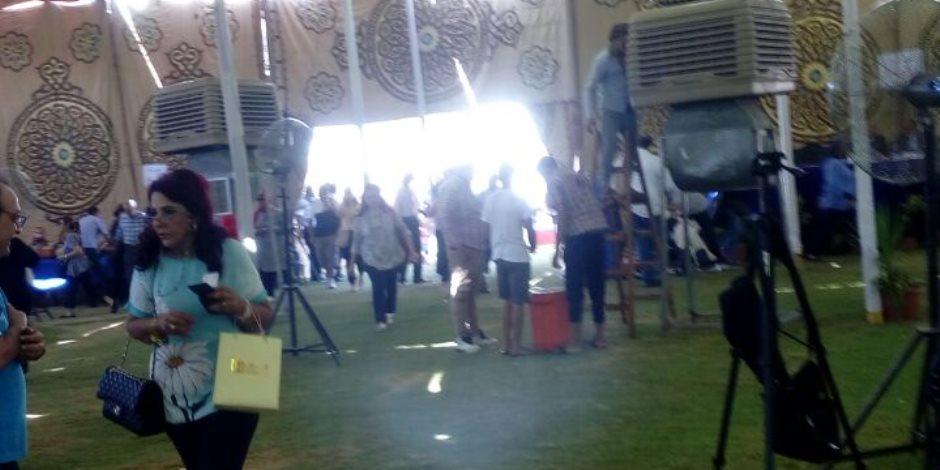 توافد أعضاء الجزيرة للتصويت على اللائحة ( صور )