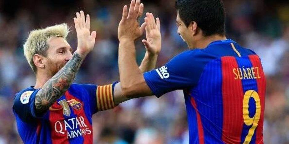 برشلونة يقترب من لقب كأس ملك إسبانيا برباعية أمام إشبيلية (فيديو)