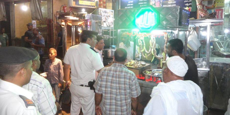 حملات مستمرة من مباحث المصنفات بالقاهرة تسفر عن تحرير 217 محضرا
