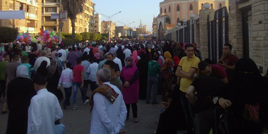 وكيل «أوقاف كفر الشيخ» يطالب المصلين بالتضحية من أجل إعلاء راية الوطن (صور)