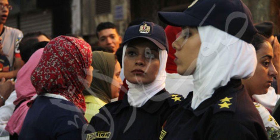 كيف نجحت الشرطة النسائية في التصدي للتحرش في العيد؟