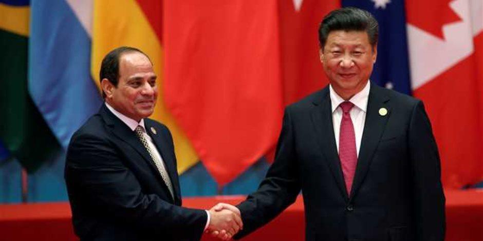 الرئيس الصينى يهنىء الرئيس السيسى بفوزه في انتخابات الرئاسة