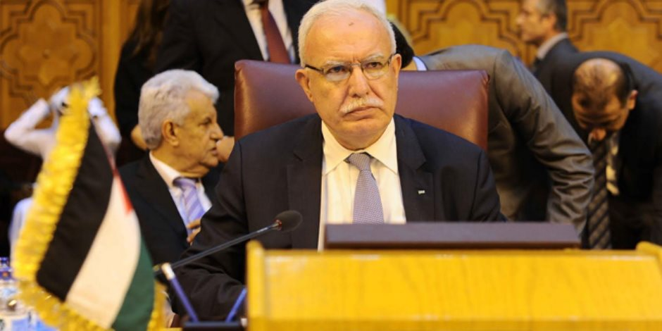 وزير الخارجية الفلسطينى يستبعد طرح الإدارة الأمريكية صفقة القرن حاليا
