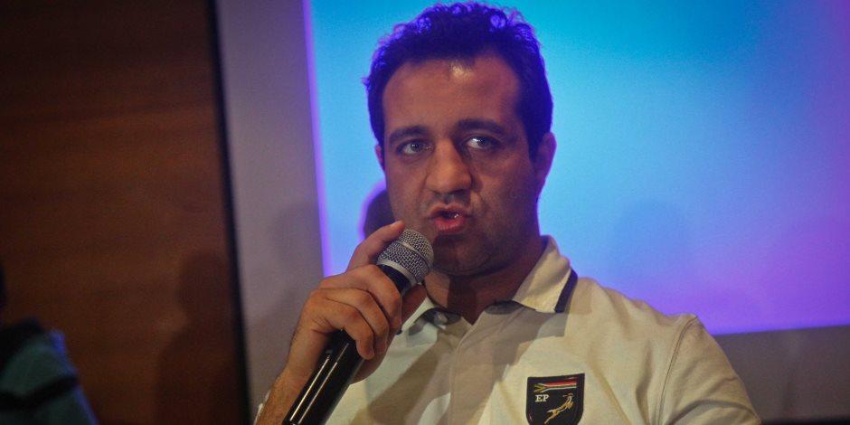 أحمد مرتضي منصور :أتابع حريق نادي الزمالك من فوق سطح منزلي بسبب قرارات حظر التجول