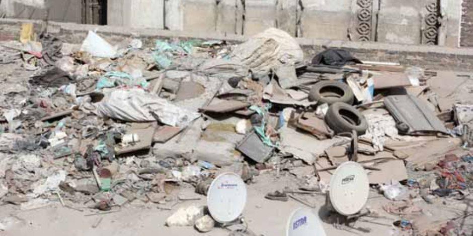دار السلام يواصل حملات مبادرة إخلاء أسطح العقارات