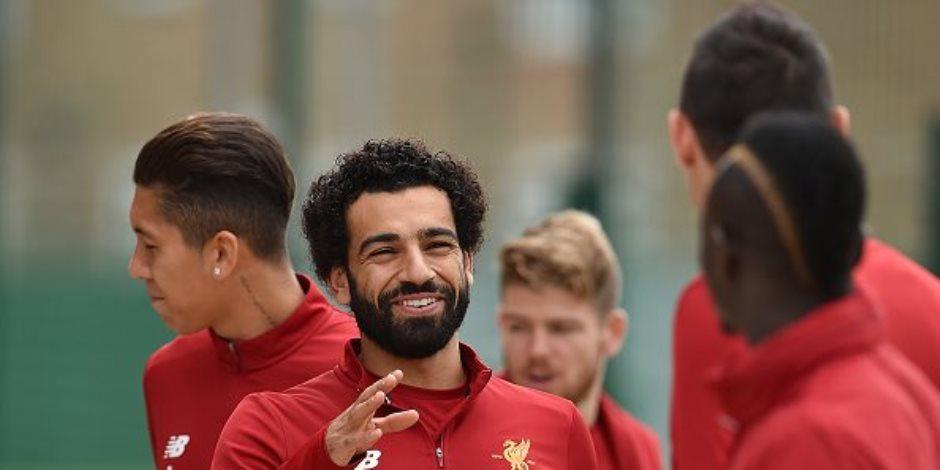 ليفربول يدعو جماهيره لمساندة محمد صلاح ضد رونالدو وميسي