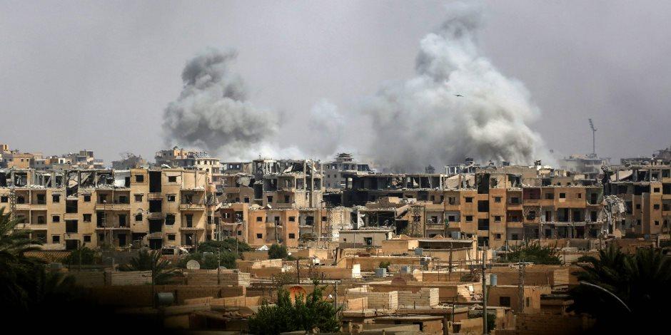 مقتل 14 شخصا في قصف للتحالف على مدينة الرقة