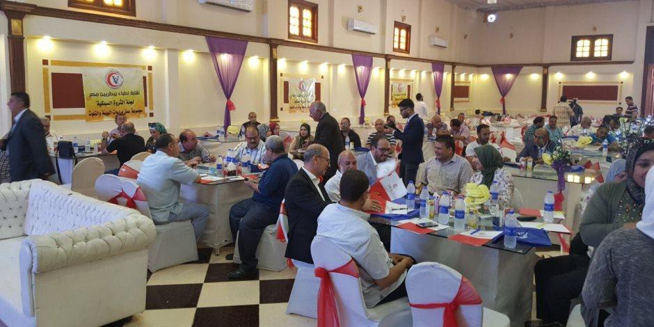 نقيب الأطباء البيطريين من كفر الشيخ : تقديم استراتيجية كاملة للنهوض بالثروة السمكية (صور)