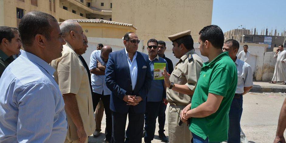 """""""سوء مستوي النظافة """" يتسبب فى احالة  رئيس مدينة دار السلام بسوهاج ونواب مجلس المدينة للتحقيق"""