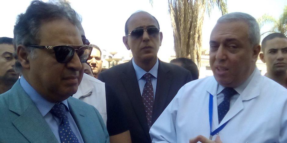 وزير الصحة والسكان يضع حجر أساس لمبنى المعهد القومى للأمراض المتوطنة بامبابة غدا الاثنين