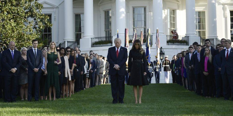 الرئيس الأمريكي دونالد ترامب يحيي الذكرى الـ 16 لأحداث سبتمبر