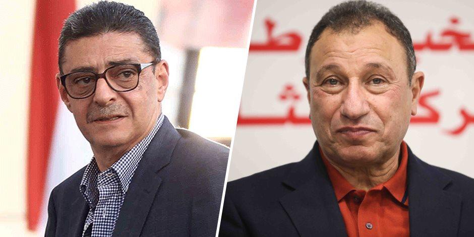 لميس الحديدي تحاور محمود طاهر والخطيب في هنا العاصمة