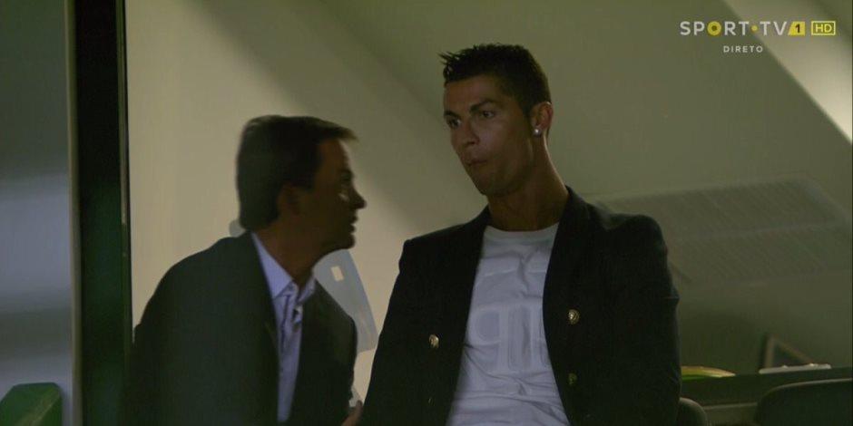 رونالدو يؤازر سبورتنج لشبونة أمام تونديلا بالدوري البرتغالي (صورة)