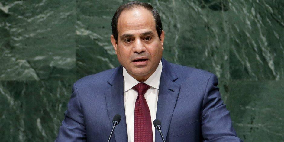 الرئيس السيسي يصل احتفالية إعلان تعداد سكان مصر 2017