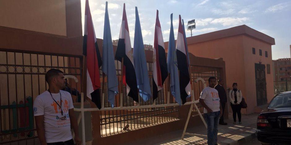 مدرسة «تحيا مصر» تستعد لاستقبال وزير التربية والتعليم (صور)
