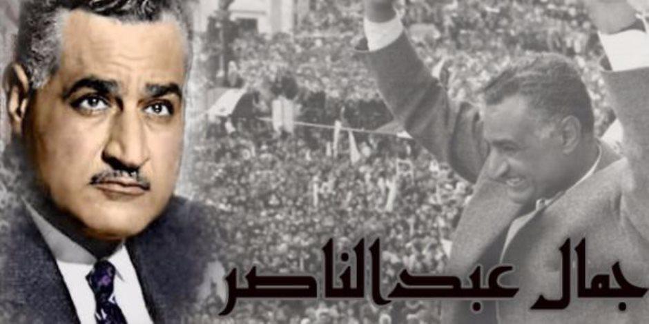 """تزامنا مع ذكراه المئوية.. """"بقلم جمال عبد الناصر"""" كشف الجوانب الشخصية للرئيس الراحل"""