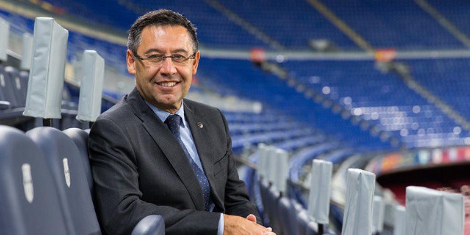 رسميا.. بارتوميو يعلن استقالته من رئاسة برشلونة مع كل أعضاء مجلس الإدارة