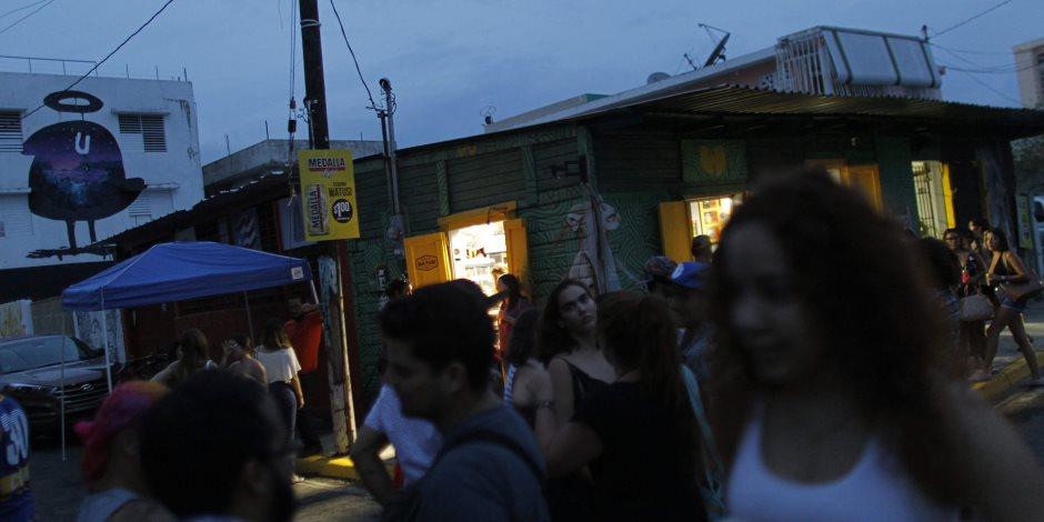 انقطاع الكهرباء يثير أزمة في بورتريكو بعد إعصار ماريا (صور)