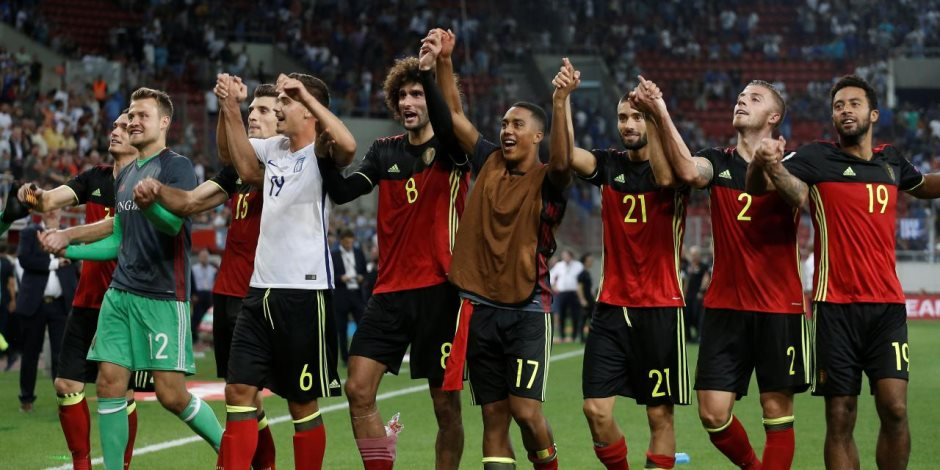 «هاتها جمايل يارب».. التشكيل الكامل للمنتخب البلجيكي أمام المنتخب المصري
