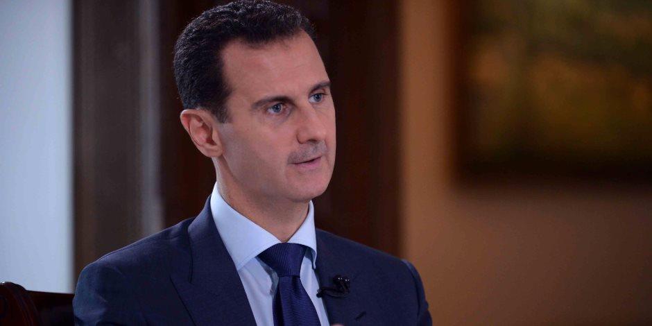 بشار الأسد: نتعاون مع إيران وروسيا لإيجاد حل سلمي يعيد الاستقرار لسوريا