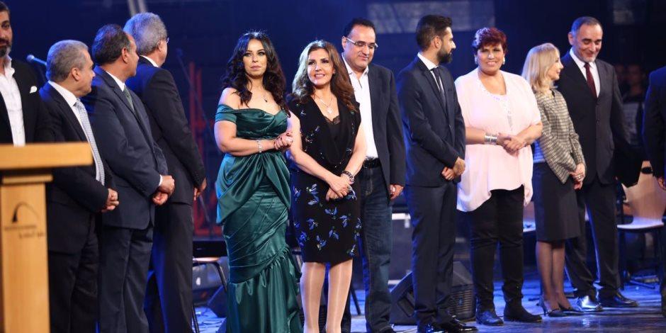 مهرجان الإسكندرية الغنائي يكرم مروة ناجي (صور)