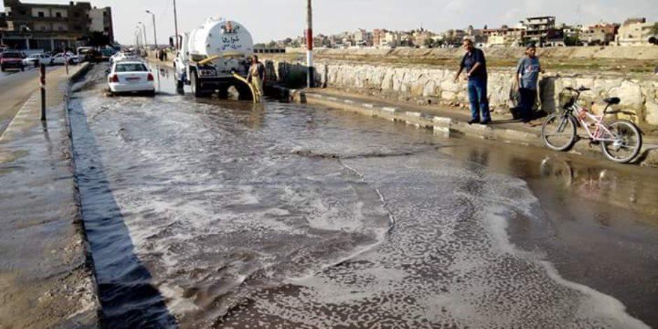 """محافظة القاهرة: الانتهاء من 92% من مشروع """"تغيير مخر السيل"""" بـ15 مايو"""