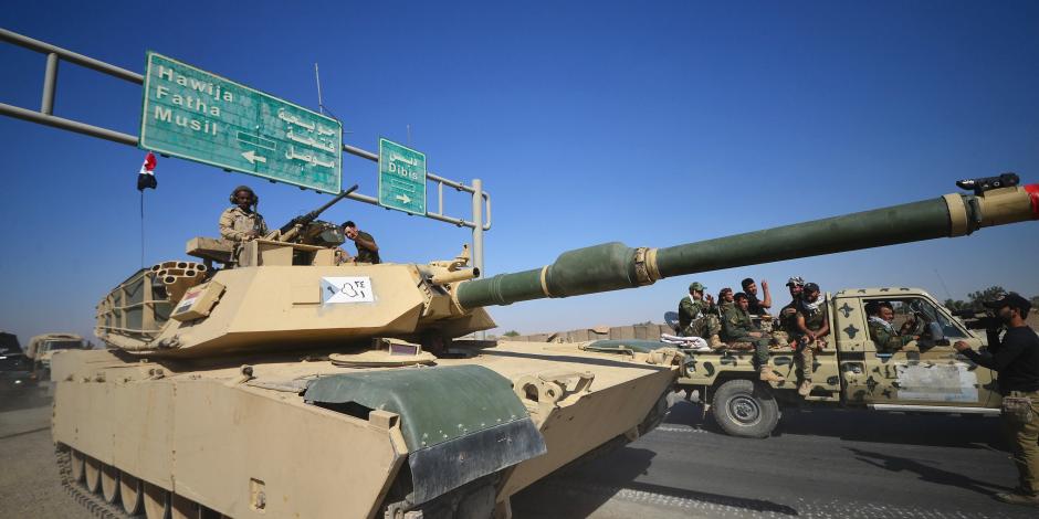 قوات العراق تتواجد بمنطقة راوة بعد تحقيق النصر على فلول داعش